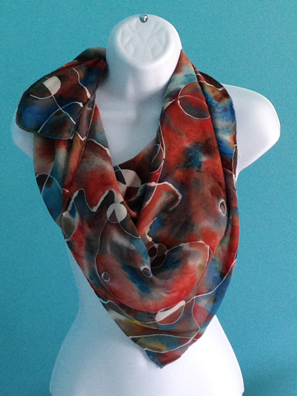Adria Willenson - Naturally Inspired Art & Design Silk Scarf